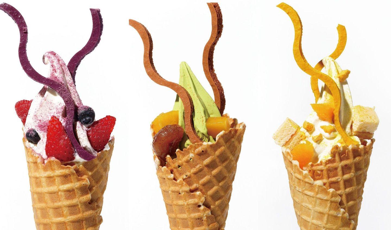 ピエール・エルメ・パリ 青山の月替わりの季節限定ソフトクリーム