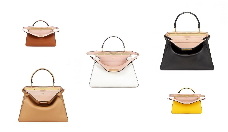 フェンディのアイコンバッグ「ピーカブー」から登場したエレガントな新作バッグ