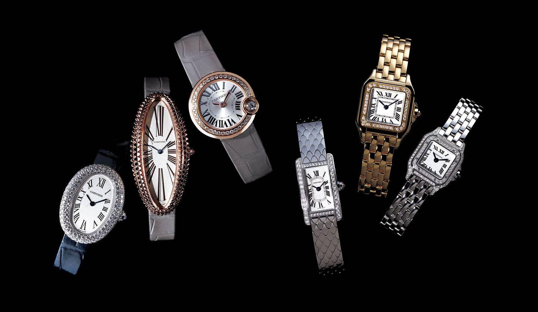 カルティエ(Cartier)のアイコニックな時計