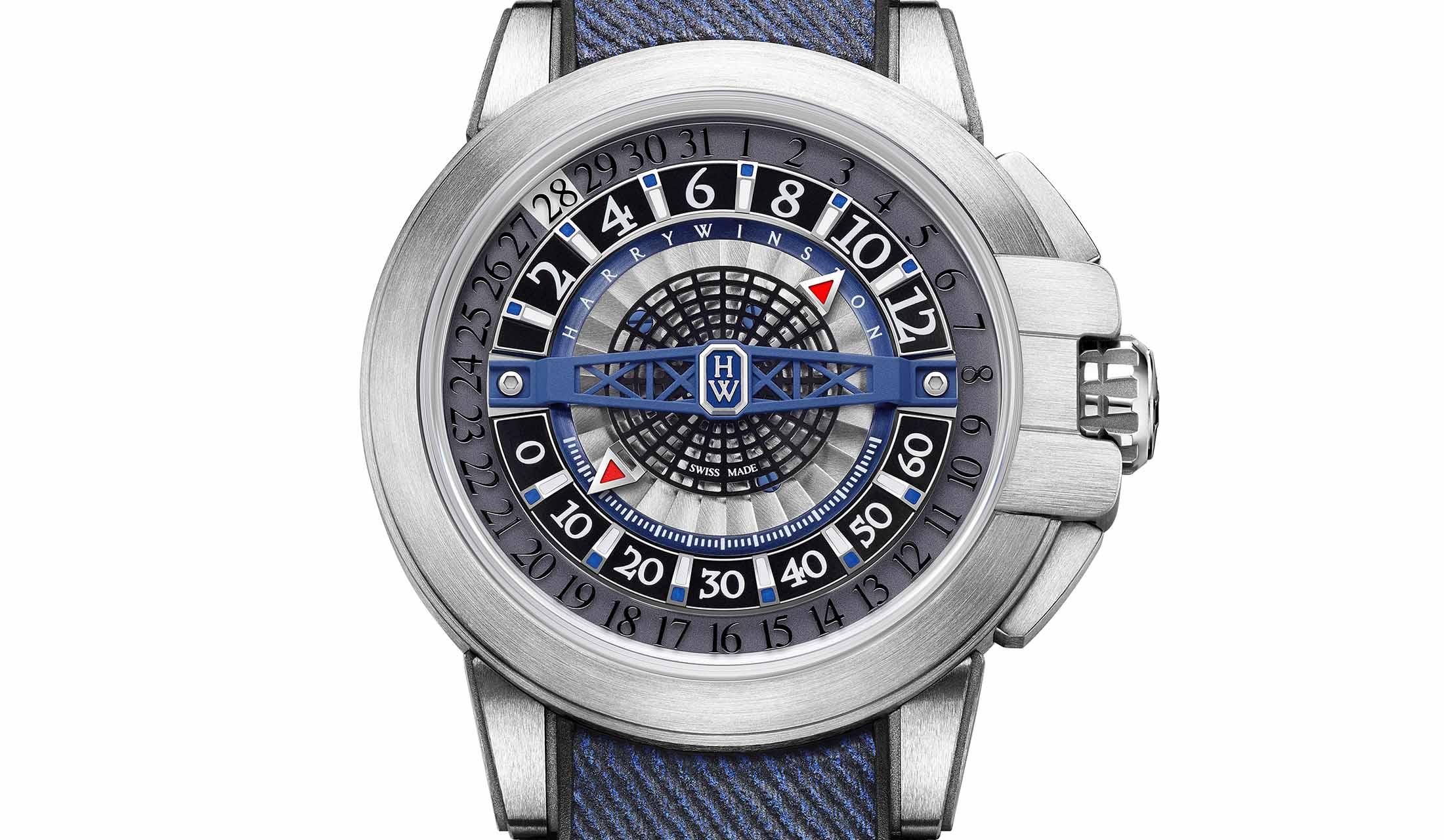 ハリー・ウィンストンの新作時計z12