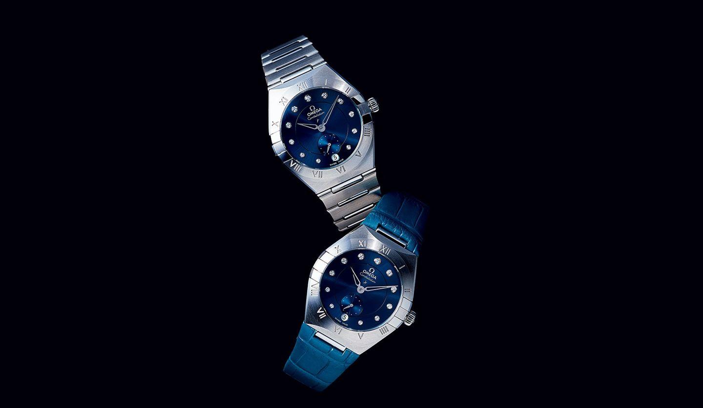 オメガの時計『コンステレーション スモールセコンド』