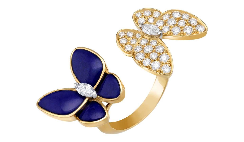 ヴァン クリーフ&アーペ「ドゥ パピヨン コレクション」の指輪