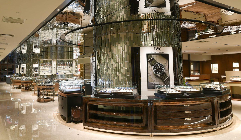 伊勢丹新宿店本館5階の時計フロア