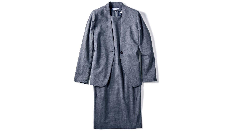 イネディットのスカートスーツ