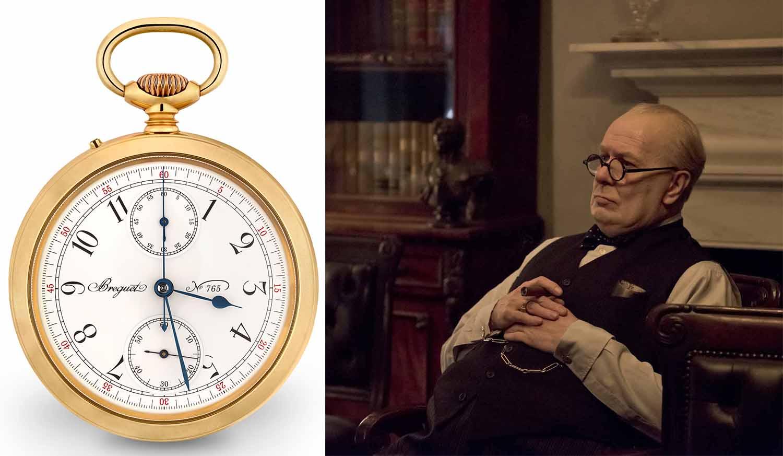 ブレゲの懐中時計とチャーチルの映画