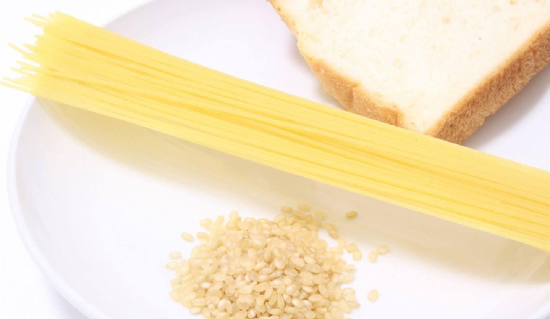 パン、米、パスタの画像