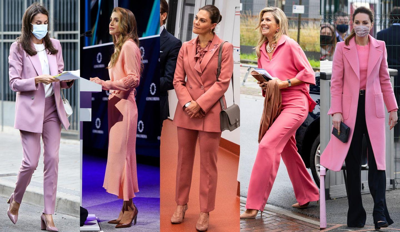 ロイヤルレディたちの春ピンクスタイル