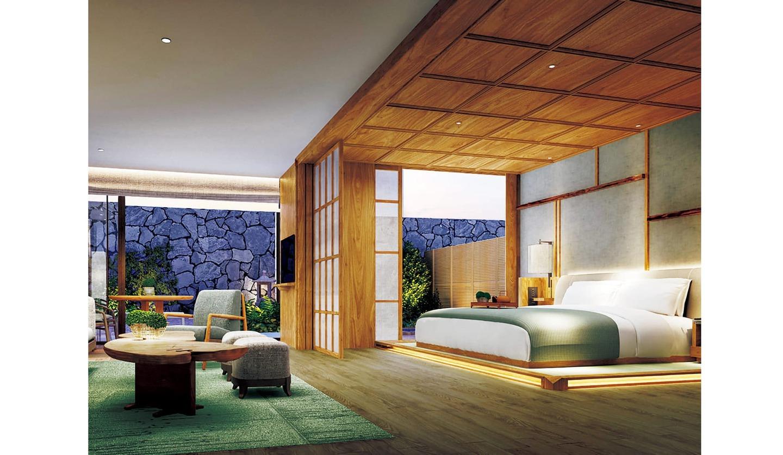 2020年11月3日にオープンしたラグジュアリーホテル「ホテル ザ ミツイ キョウト」