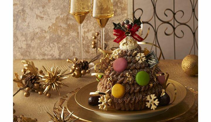 銀座三越の2020年クリスマスケーキ「モンブラン・ツリー」
