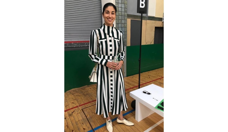 ロンドンの街角でファッションジャーナリストの藤岡篤子さんが見つけたオシャレな女性たち