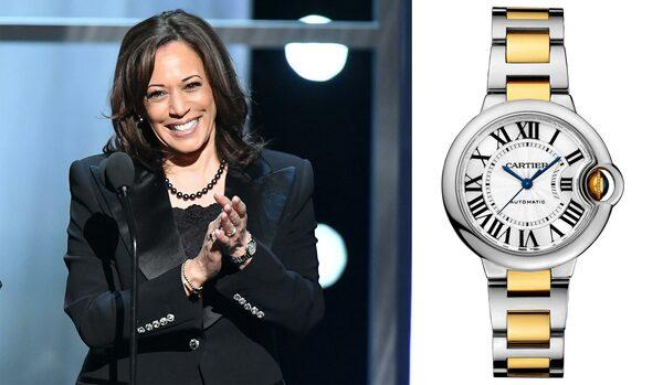 カマラ・ハリスの愛用時計とは?カルティエ「バロン ブルー」が授ける品格と自信