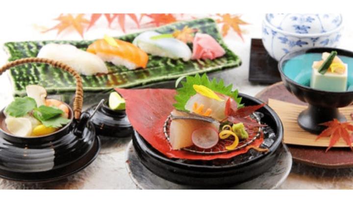 日本料理 倉敷の料理の数々