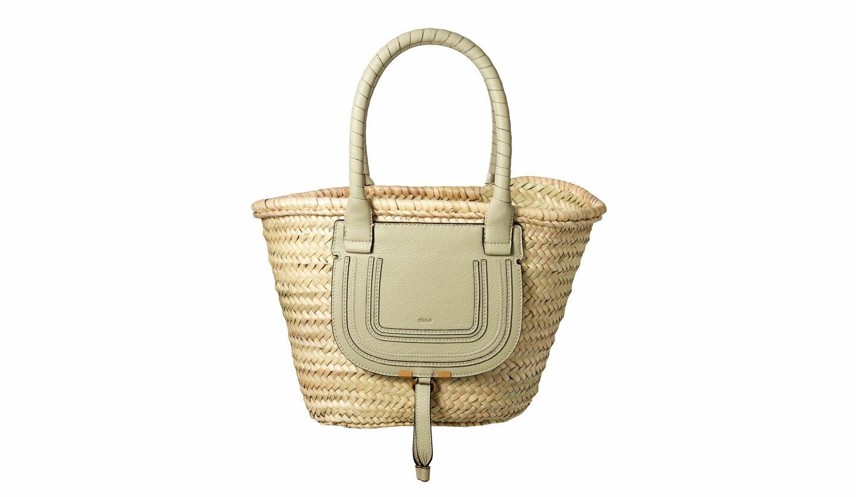 クロエから登場した日本限定カラーの「かごバッグ」が夏らしく爽やか