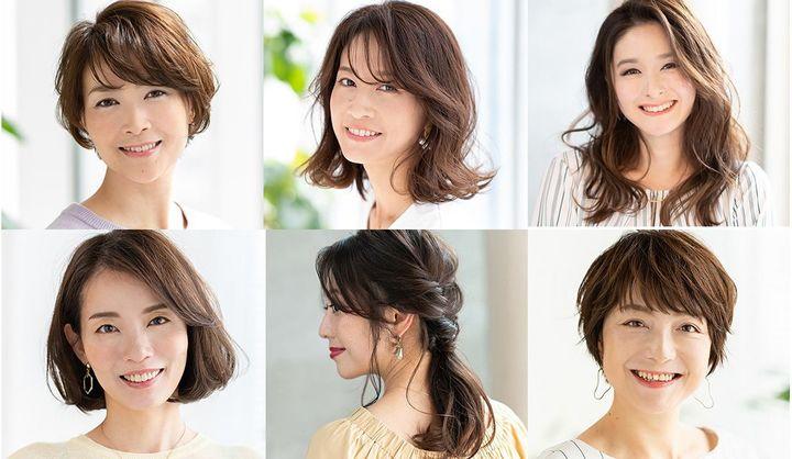 面長女性におすすめの髪型6つ