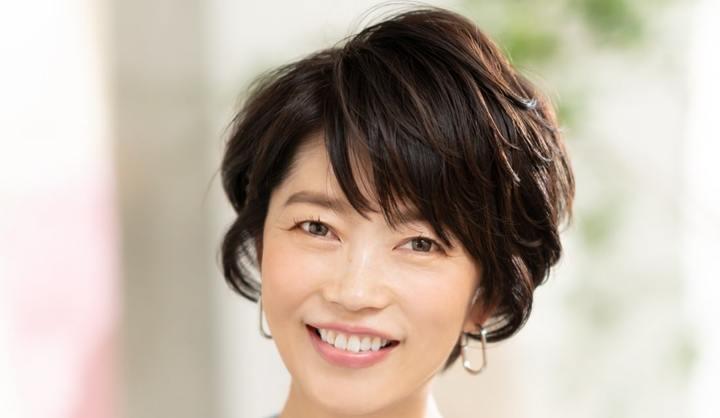 卵型のショートヘア代表:椿原順子さん(48歳/デザイナー)