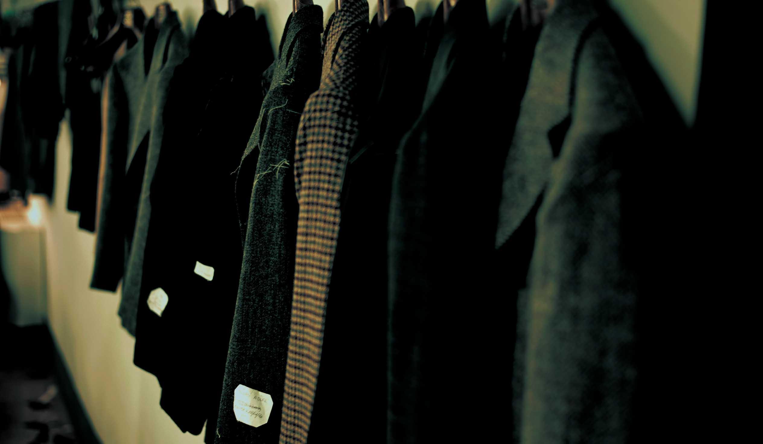 ナポリ仕立てのジャケット