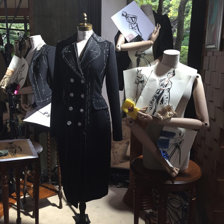三田のイタリア大使館で発表された、ドルチェ&ガッバーナのオートクチュールコレクション