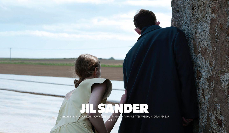 JIL SANDER(ジル サンダー)2019年秋冬コレクションのキャンペーンイメージ