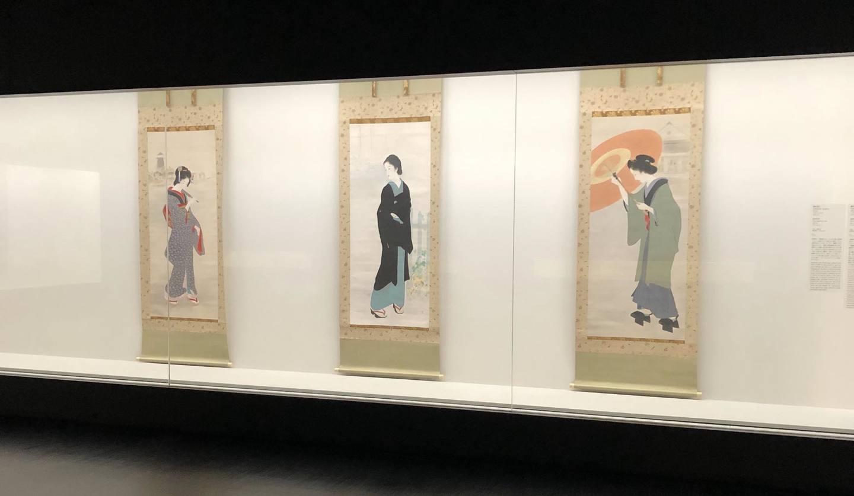 展覧会「鏑木清方 幻の「築地明石町」特別公開」開催中