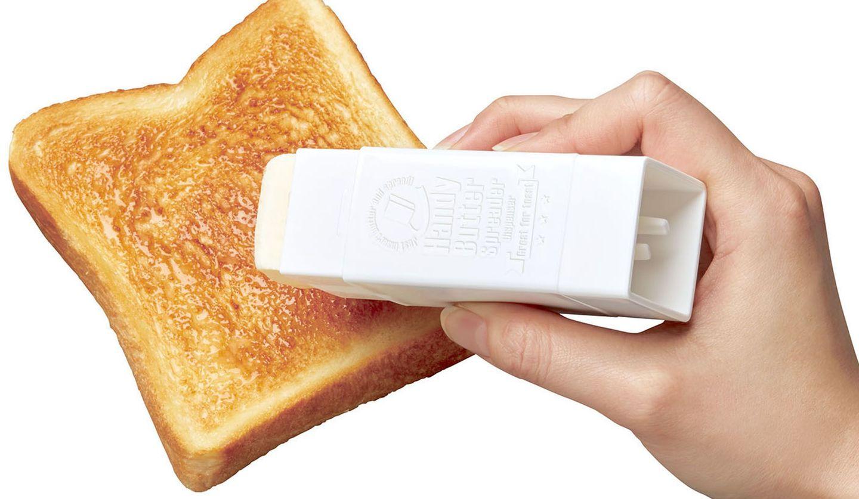 トーストと直ぬりバタースティック
