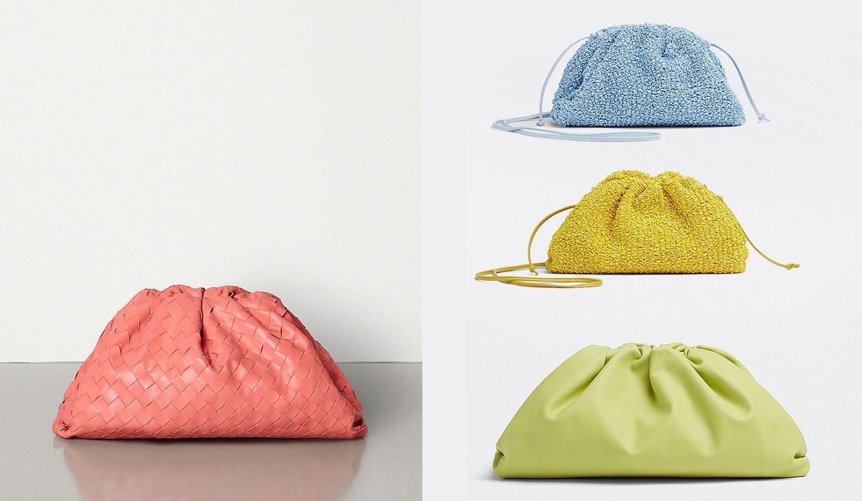 ボッテガ・ヴェネタの「ザ・ポーチ」新色と新素材