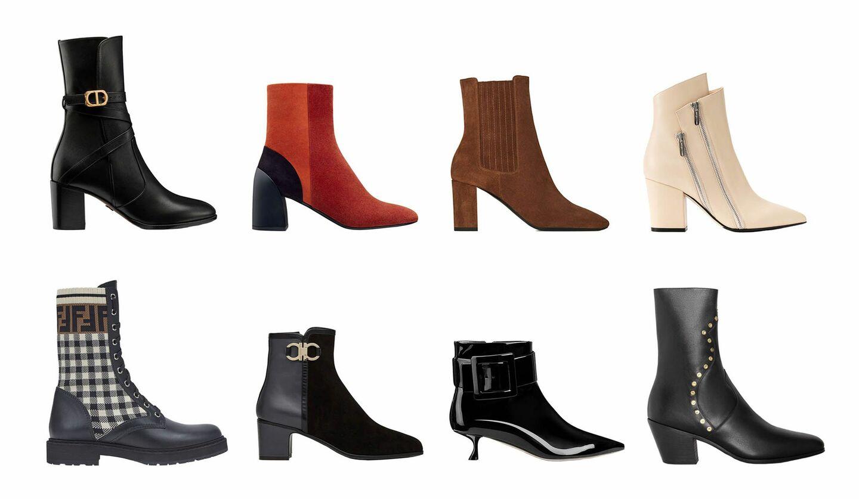 「ディオール(Dior)」、「エルメス(Hermès)」、「サンローラン(Saint Laurent)」、「フェンディ(Fendi)」、「セリーヌ(Celine)」、「セルジオ ロッシ(Sergio Rossi)」、「ロジェ ヴィヴィエ(Roger Vivier)」、「サルヴァトーレ フェラガモ(Salvatore Ferragamo)」の新作ブーツ