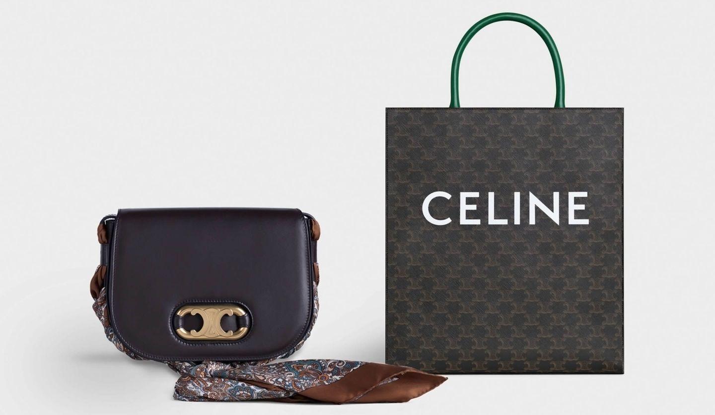 CELINE(セリーヌ)の2020年サマーコレクションの「MAILLON TRIOMPHE(マイヨン トリオンフ)」と「TRIOMPHE CANVAS COLORAMA(トリオンフ キャンバス コロラマ)」