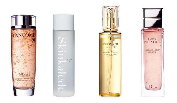 人気の化粧水 40・50代に使ってほしい高機能化粧水や、毛穴に効果的な化粧水まとめ