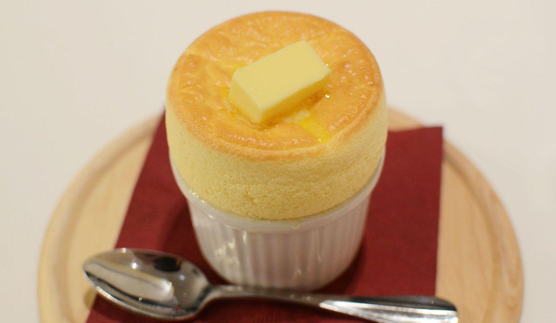 TEST KITCHEN H (テストキッチン・エイチ)の「生バターのメープルスフレ」