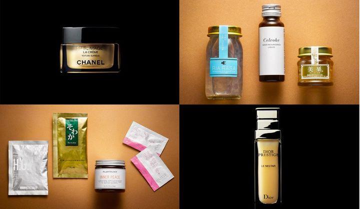肌のハリを取り戻す化粧品やサプリメント、食べ物などまとめ