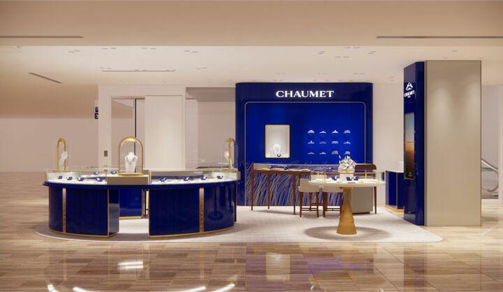 今年創業240年を迎えたパリのジュエラー、ショーメの銀座三越店が2020年11月4日(水)リニューアルオープン