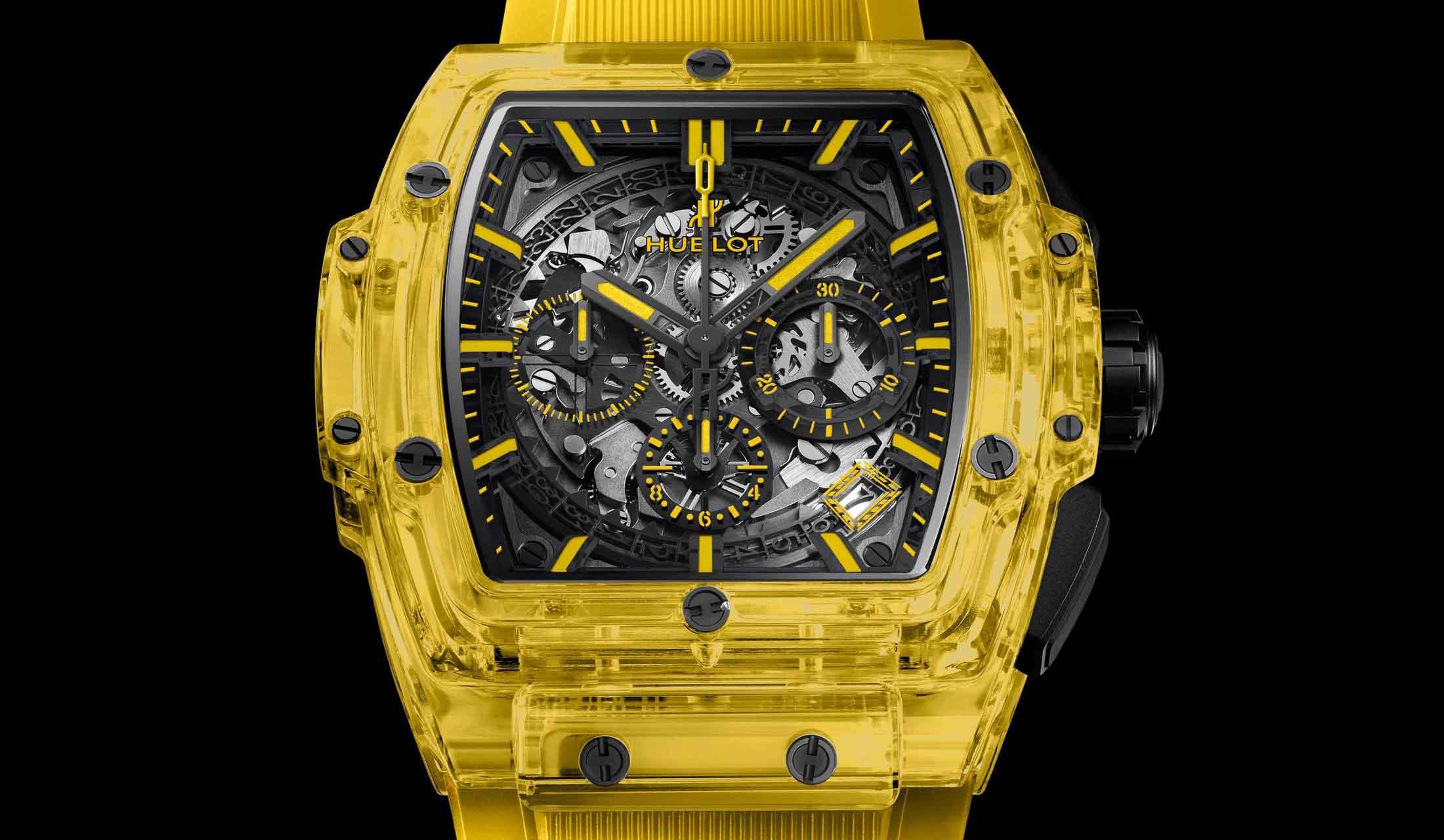 ウブロの2019年新作時計「スピリット オブ ビッグ・バン イエローサファイア」