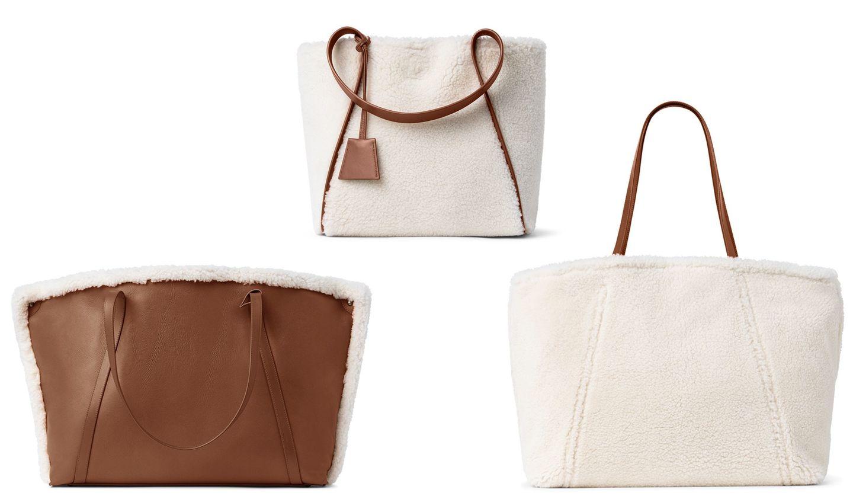 アクリスのシアリング素材の新作バッグ