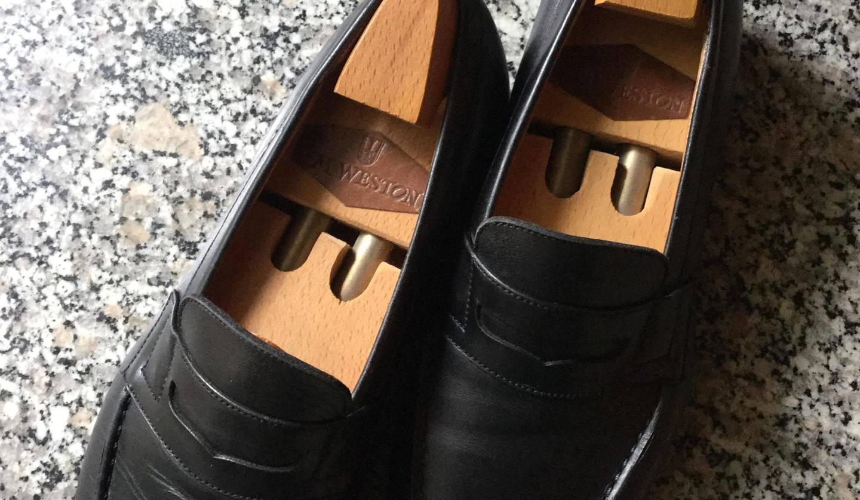 J.M.ウエストンのローファー靴