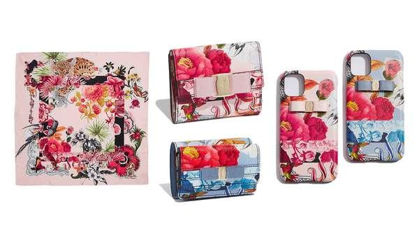ピンクとブルーの財布やスマホケースに注目!サルヴァトーレ フェラガモの「シルクカプセルコレクション」4選
