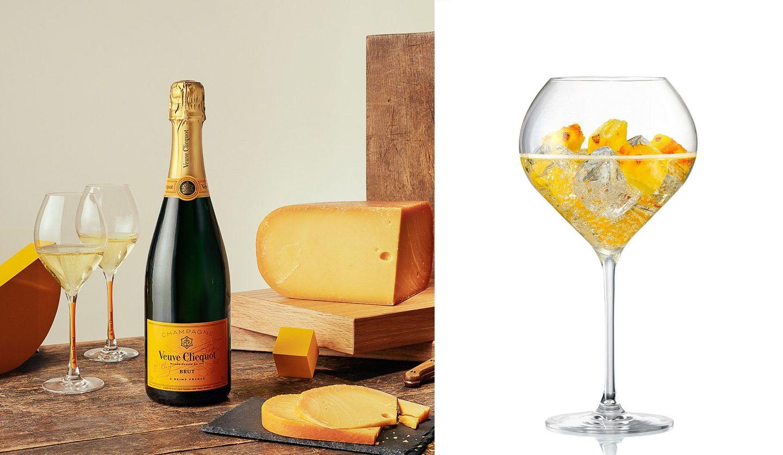 ヴーヴ・クリコイエローラベルとチーズのフードペアリングとヴーヴ・クリコリッチで作るクリコロジー