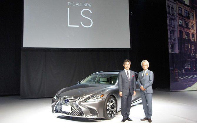 レクサスが新型LSを発表!「世界で最も安全なクルマ」とは