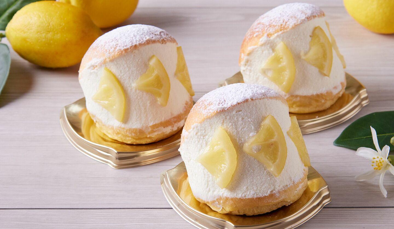 「瀬戸田レモンのマリトッツォ」¥500 ホテルオークラ東京ベイ
