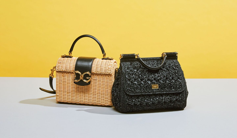 DOLCE & GABBANA(ドルチェ&ガッバーナ)の新作かごバッグの写真