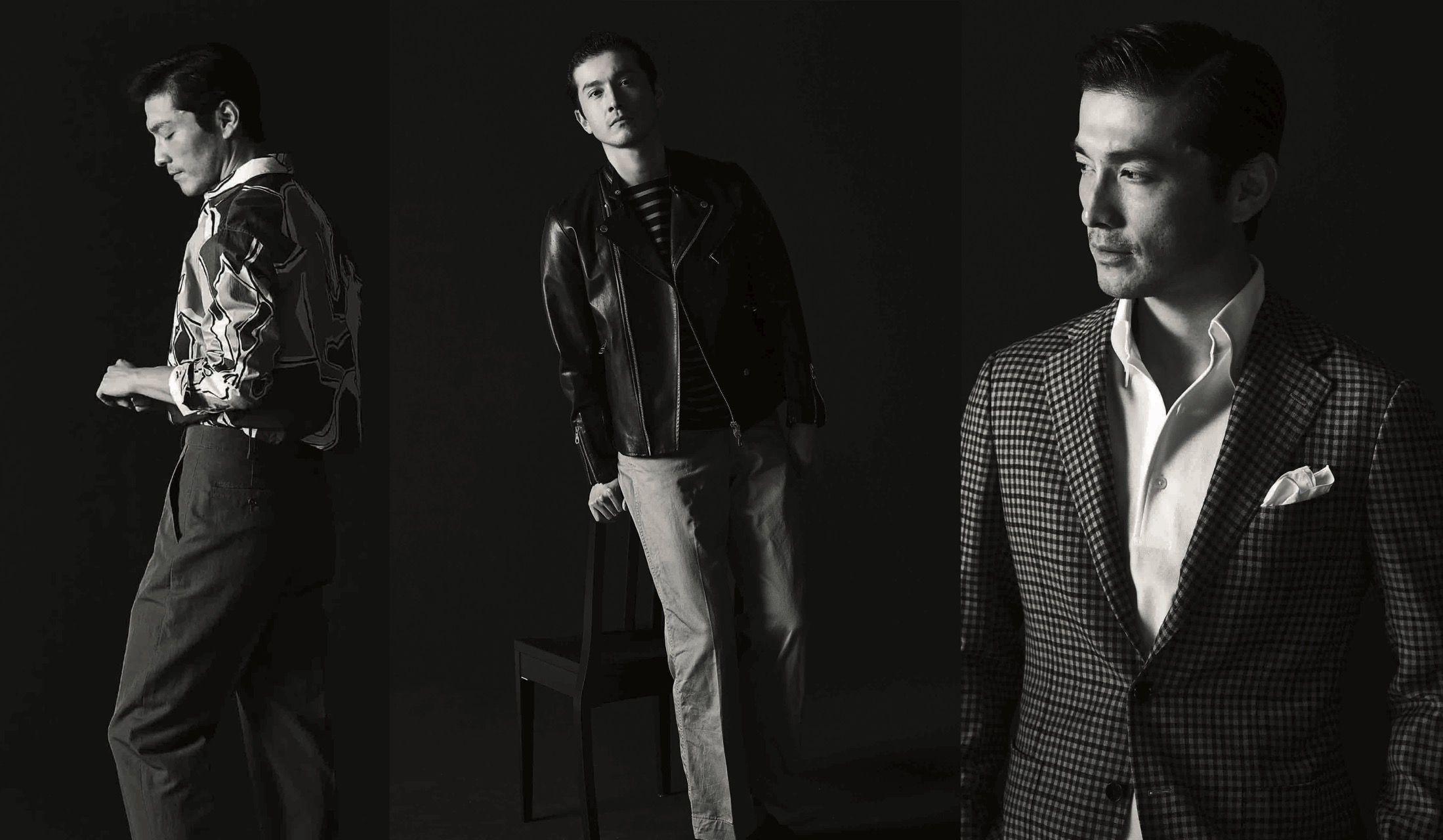 紳士たちのファッションスタイル