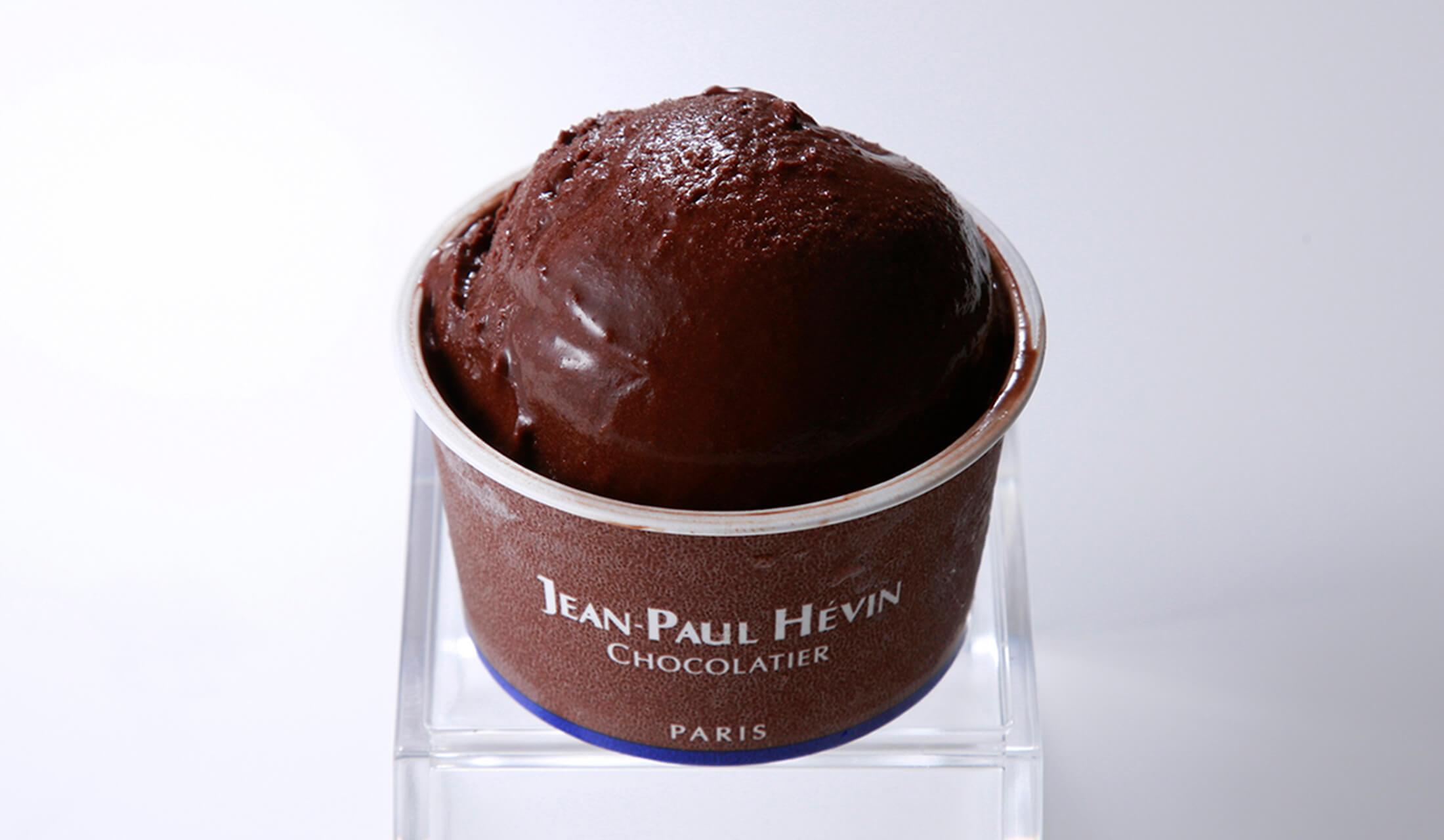 JEAN-PAUL HÉVIN(ジャン=ポール・エヴァン)のチョコレートアイスクリーム「グラス オ ショコラ」