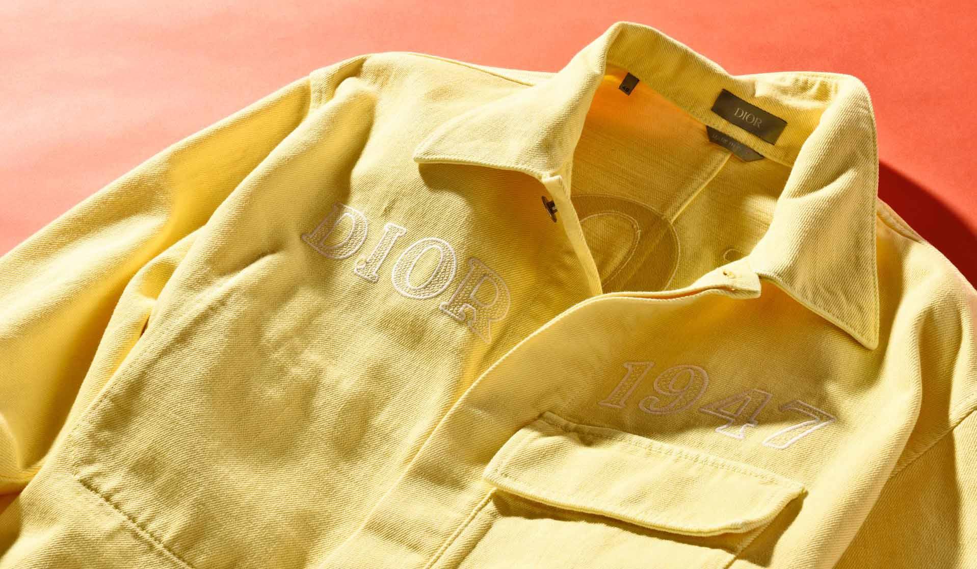 ディオールのデニムシャツ