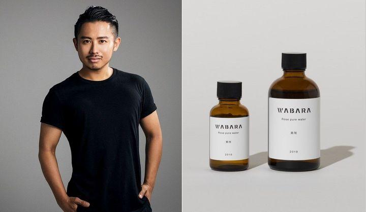 小田切さんがおすすめする、WABARAの「ばらの生体水」