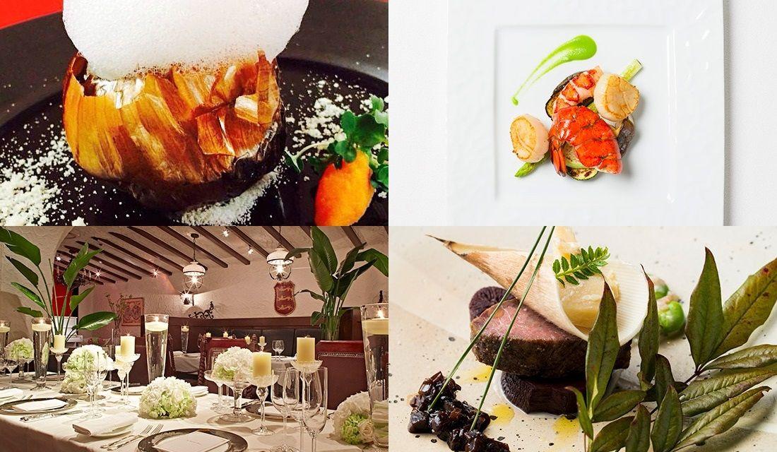 福岡のイタリアンレストランのお料理の写真4枚