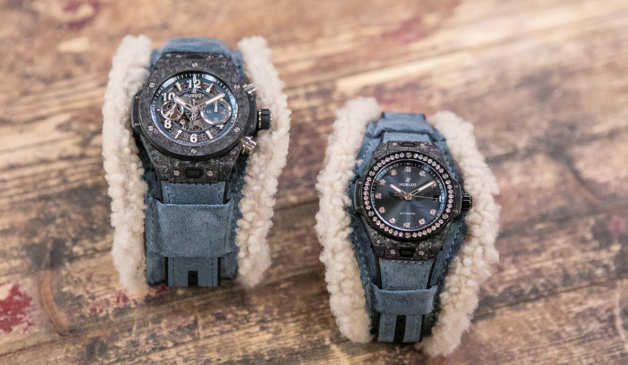 アイコニックなモデルとして愛され続けているウブロの腕時計「ビッグ・バン アルプス」