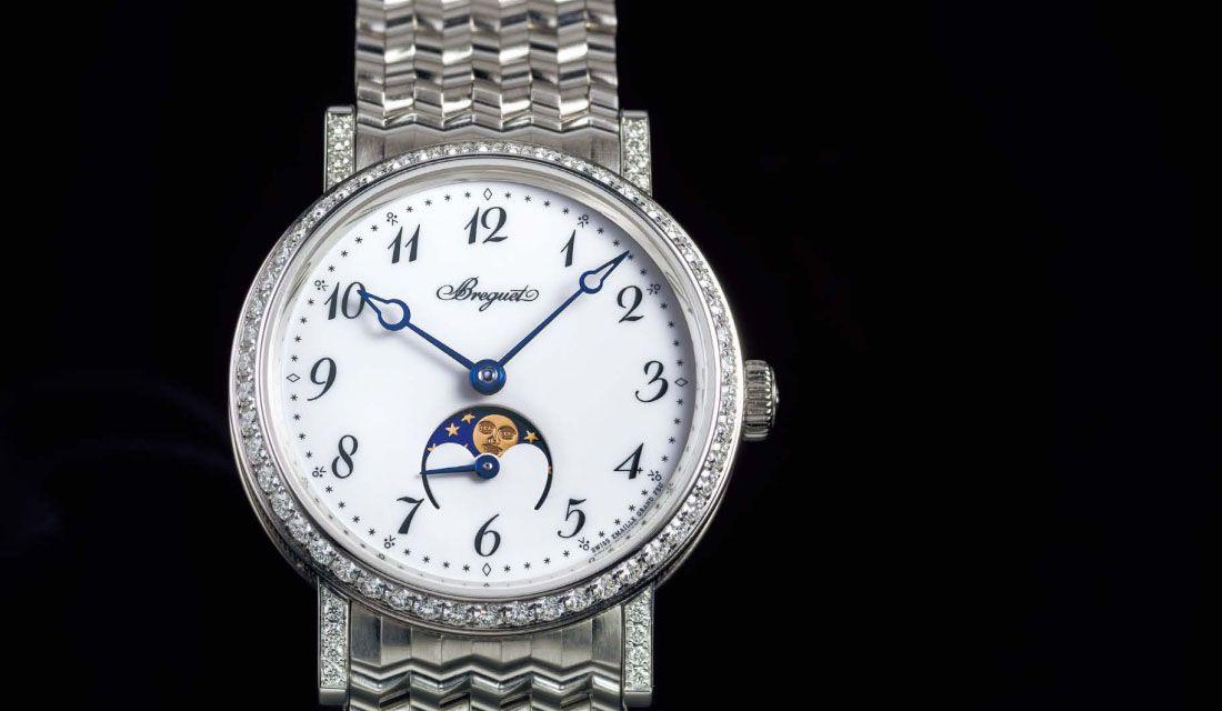ブレゲの時計『クラシック レディムーンフェイズ 9088』