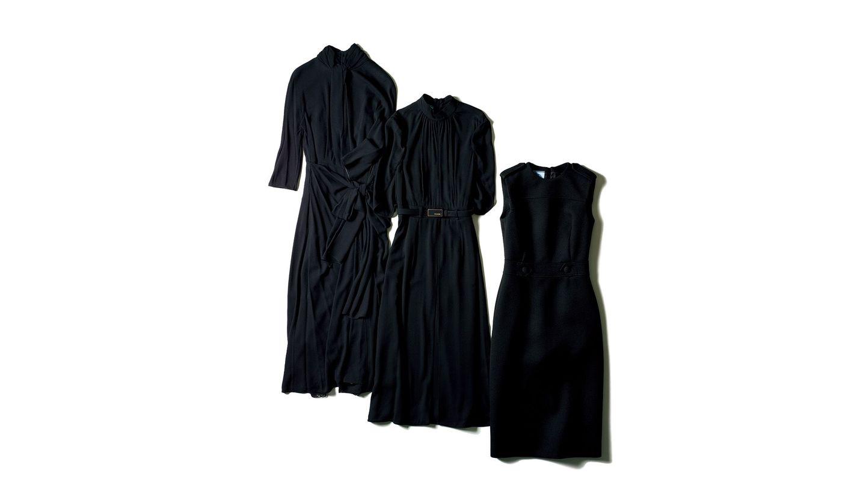 プラダのブラックドレス
