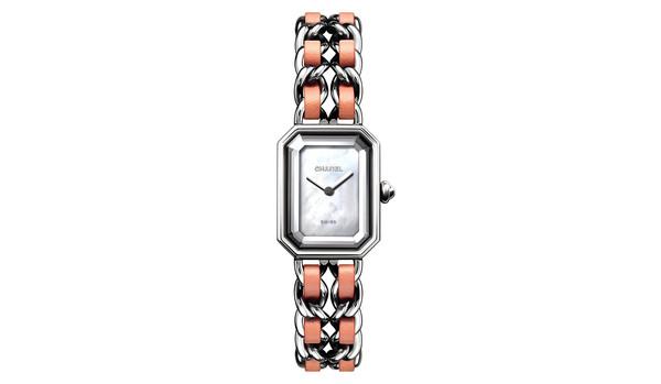 シャネルの時計「プルミエール」に春らしいパステルピンクがお目見え、世界1200本限定!