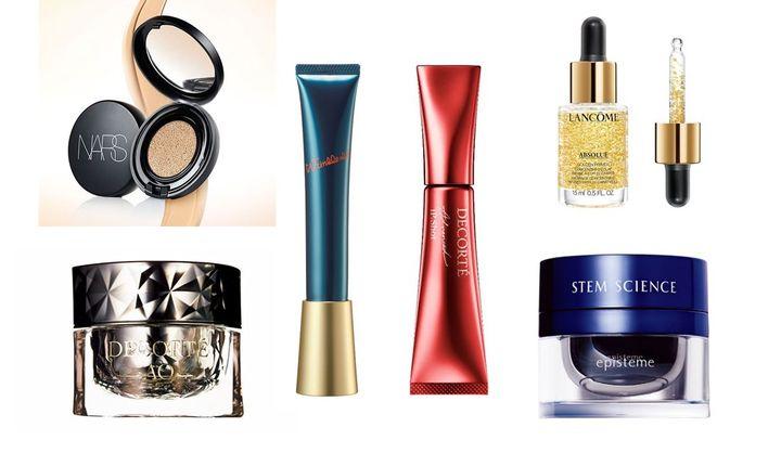 ほうれい線に効果的なクリーム、美容液、マスク、ファンデーション