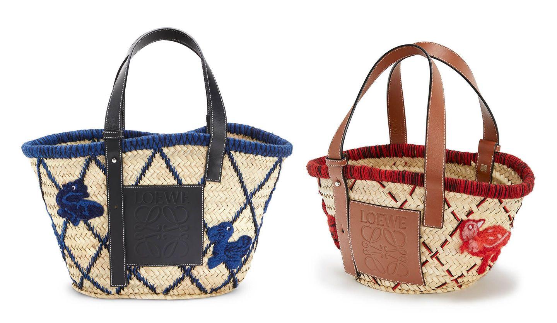 LOEWE(ロエベ)と陶芸家ウィリアム・ド・モーガンコラボコレクションのバッグ、三越伊勢丹限定アイテム